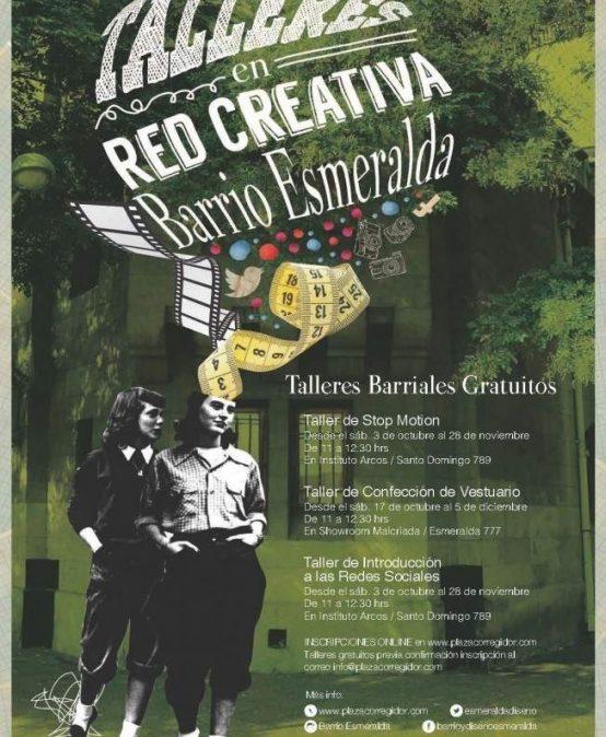 CREATE Y COMITÉ BARRIO ADELANTO BARRIO ESMERALDA FINALIZAN TALLERES PARA LA COMUNIDAD